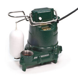 Model D53 Mighty-Mate Auto Cast Iron Effluent Pump - 230 V, 0.3 HP Product Image