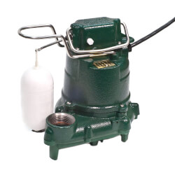 M53 0.3 HP, 115V Mighty Mate Auto Cast Iron Effluent Pump Product Image