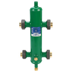 "1-1/4"" Sweat Union Hydronic Separator"