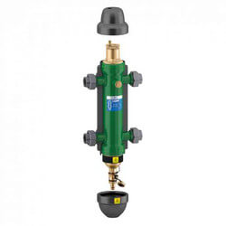 """SEP4 1"""" NPT 4-in-1 Air, Dirt, Hydro & Magnet Hydraulic Separator Product Image"""