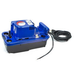 NXTGen VCMX-20ULS-C, 84 GPH Automatic Condensate Removal Pump w/ Safety Switch & Anti-Sweat Sleeve