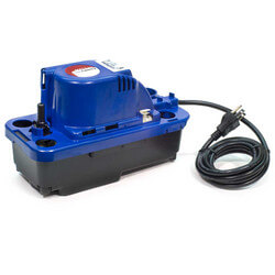 NXTGen VCMX-20ULST, 84 GPH Automatic Condensate Removal Pump w/ Safety Switch & Tubing