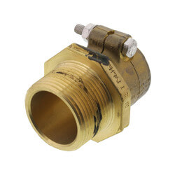 "WIPEX Fitting, 1-1/4"" PEX x 1-1/4"" NPT"