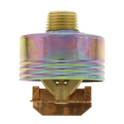 "Brass Horizontal Concealed Side Wall Sprinkler 155°F (1/2"" NPT) Product Image"