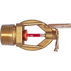 "GL5658 Brass Quick Response Horiz. Sidewall Sprinkler (1/2"" Thread) Product Image"