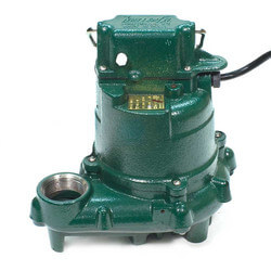 Model N57 Mighty-Mate Non-Automatic Cast Iron Effluent Pump - 115 V, 0.3 HP