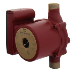 UP15-18B7 Bronze Circulator Pump<br>(1/25 HP, 115V) Product Image