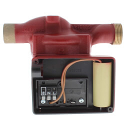 "3/4"" Sweat UP 15-18BUC7 1-Speed Bronze Circulator Pump, 115V, 1/25 HP Product Image"