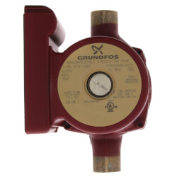 "3/4"" Sweat UP 15-42B7 1-Speed Bronze Circulator Pump, 115V, 1/25 HP Product Image"