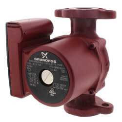 UPS15-42F, 3-Speed Circulator Pump, 1/25 HP, 230 volt