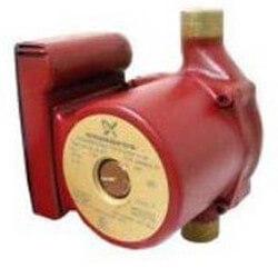 "1/2"" Sweat UP 15-18B5/TLC 1-Speed Bronze Circulator Pump, 115V, 1/25 HP Product Image"
