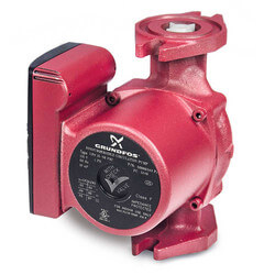 UPS15-58FRC, 3-Speed Rotated Flanged Circulator Pump (1/25 HP, 115V) Product Image