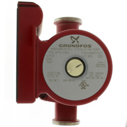UP15-29SU Circulator Pump, 1/12 HP, 115V w/ NPT Union Connection