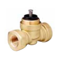 "1/2"" 2-Way N/C <br>Valve Body  (2.5 Cv) <br>Female x Union Male Product Image"