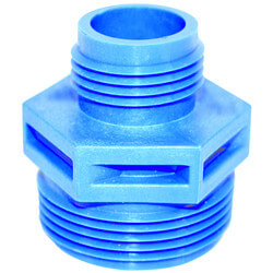 """GH-3/4 - 1-1/4"""" MNPT x 3/4"""" GHT Discharge Adapter Product Image"""
