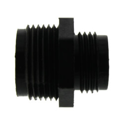 """GH-1 - 1"""" MNPT x 3/4"""" GHT Discharge Adapter Product Image"""