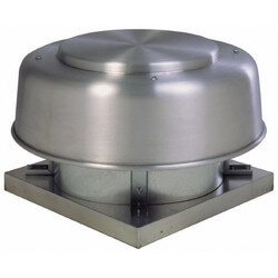 "5ADE Series<br>10"" Direct Drive Axial<br>Exhaust Roof Fan Product Image"