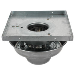 "5DDD Series<br>8"" Roof Mount Direct<br>Drive Downblast Fan Product Image"