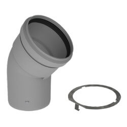 """5"""" PolyPro 45° Elbow w/ LB2 Product Image"""