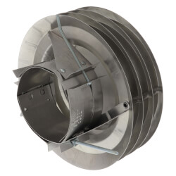 """2-7/8"""" to 5"""" Pipe O.D. Round Versa Cap Flue & Hot Stack Cap Product Image"""