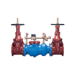 """6"""" 350DAL Double Check<br>Detector Assembly Less<br>Shut-off Valve Product Image"""