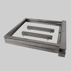 "Air Handler Base, 22"" Height x 22"" Depth (200 lbs max) Product Image"
