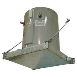 "Wall Mounted Suspended Platform (28-1/2"" x 28-1/2"" Pan x 3"" Pan) Product Image"