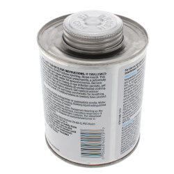 16 oz. Medium Body, Medium Set PVC Cement (Clear) Product Image