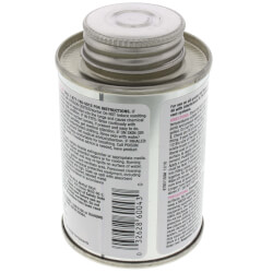 4 oz. Regular Body, Medium Set PVC Cement (Clear) Product Image