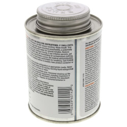 8 oz. Regular Body, Fast Set PVC Cement (Clear) Product Image