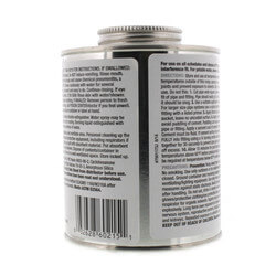 16 oz. Heavy Body, Slow Set PVC Cement (Gray) Product Image