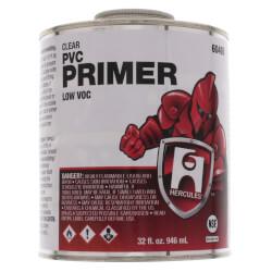 1 qt. Clear PVC Primer