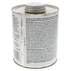 32 oz. Medium Body, Fast Set ABS Cement (Black) Product Image