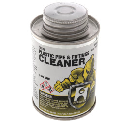 1 qt. Plastic Pipe and Fittings Cleaner (Clear)