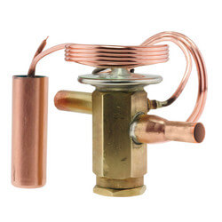 "3/8"" 3 Ton Thermal<br>Expansion Valve<br>with Bleed Port Product Image"