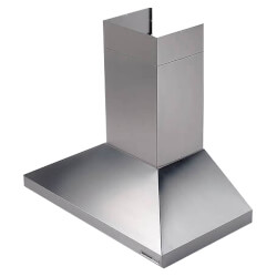 "30"" SS Wall Mount Chimney Hood w/ Internal Blower (450 CFM) Product Image"