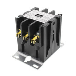 3 Pole Contactor w/ Screw Type Termination<br>(30A, 24V) Product Image