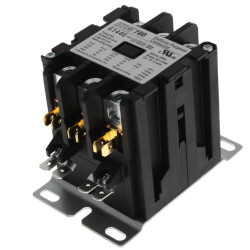 3 Pole Contactor<br>w/ Box Lug Termination<br>(40A, 120V) Product Image