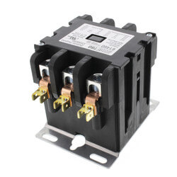 3 Pole Contactor w/ Box Lug Termination (50A, 24V) Product Image