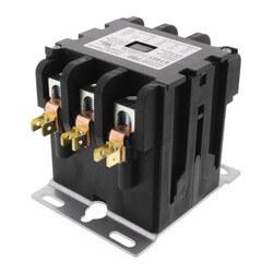 3 Pole Contactor<br>w/ Box Lug Termination<br>(50A, 120V) Product Image