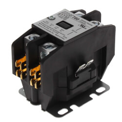 Single Pole, 40 Amp, 24V Contactor Product Image