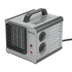 Model 6201 Big Heat Portable 2-Level Heater with Built-In Thermostat (1500 Watts)