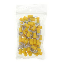 Insulated Spades Solderless Terminals, 12-10 AWG (50-Pack) Product Image