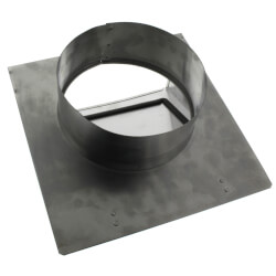 "8"" Round Duct Aluminum Wall Cap Product Image"