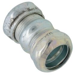 """1/2"""" Steel EMT Compression Coupling Product Image"""