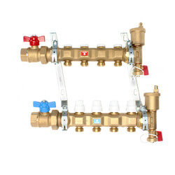 """1"""" Manifold w/ Shut-Off Valves (4 Outlets) Product Image"""