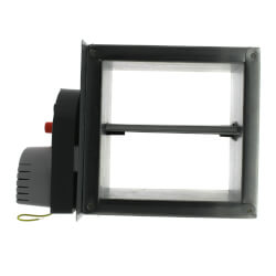 """8"""" X 8"""" Square<br>Motorized Damper Product Image"""