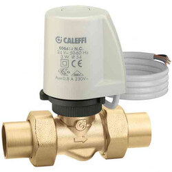 "1/2"" Sweat Union 2-Way Thermo-Electric Zone Valve Product Image"