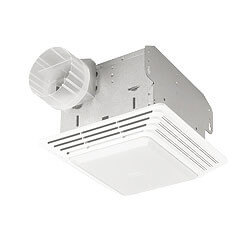 """678 Economy Vent Fan<br>w/ Light, 4"""" Round Duct<br>50 CFM Product Image"""