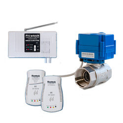"""NG/LP Gas & CO Leak Detection Full Safety System w/ 1/2"""" Automatic Shutoff Valve Product Image"""